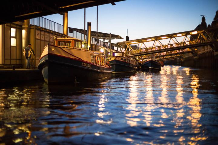Barkassenhafen Hamburg #2 | Kai-Uwe Klauss Photography