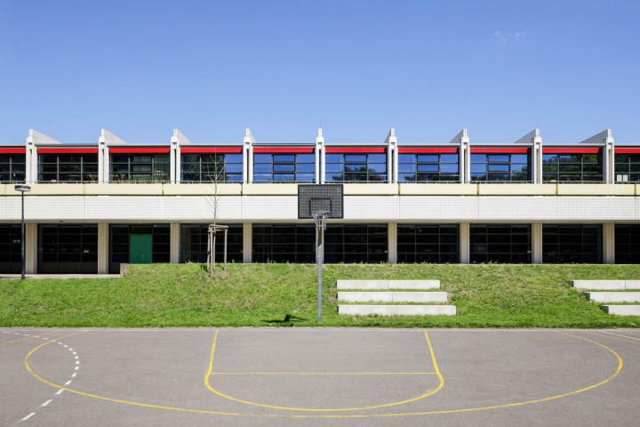Arne Jacobsen | Christianeum #36 | Kai-Uwe Klauss Architecturephotography