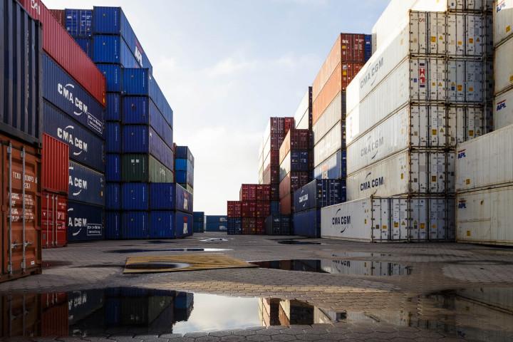 Container im Hamburge Hafen #2 | Kai-Uwe Klauss Photography