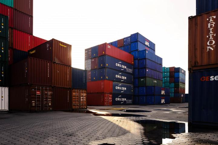 Container im Hamburge Hafen | Kai-Uwe Klauss Photography