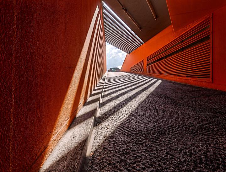 Deichtorcenter Hamburg,Tiefgarage #3 | Kai-Uwe Klauss Architecturephotography