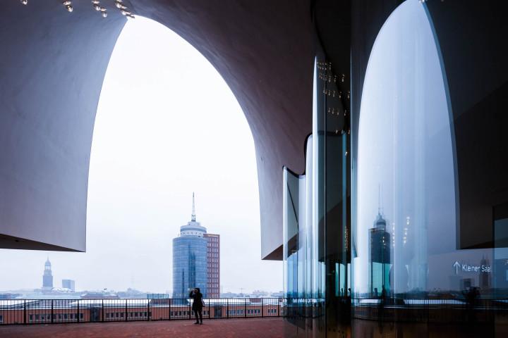 Elbphilharmonie Plaza, Hamburg #11 | Kai-Uwe Klauss Architecturephotography