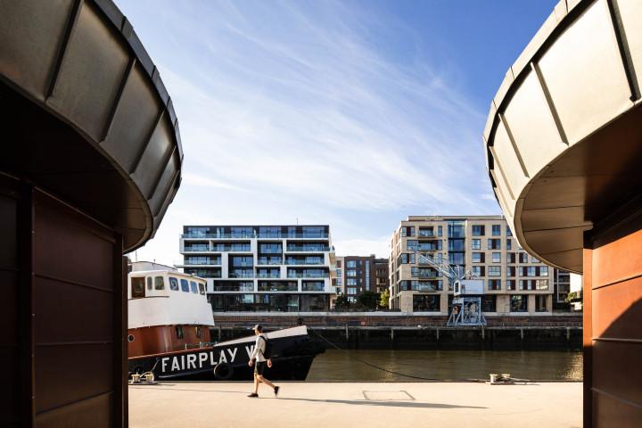 Morgens in der HafenCity #1 | Kai-Uwe Klauss Photography
