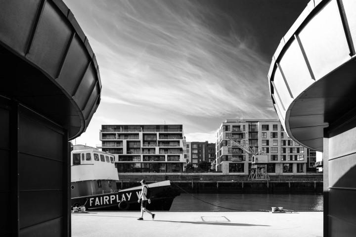 Morgens in der HafenCity #2 | Kai-Uwe Klauss Photography