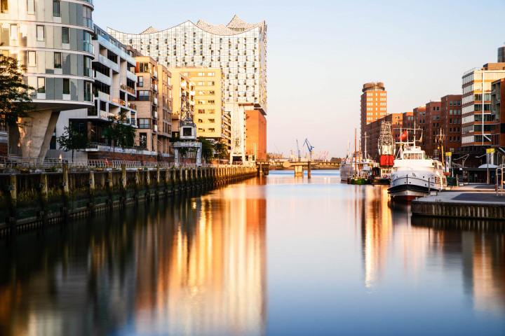 Morgens in der HafenCity #4 | Kai-Uwe Klauss Photography