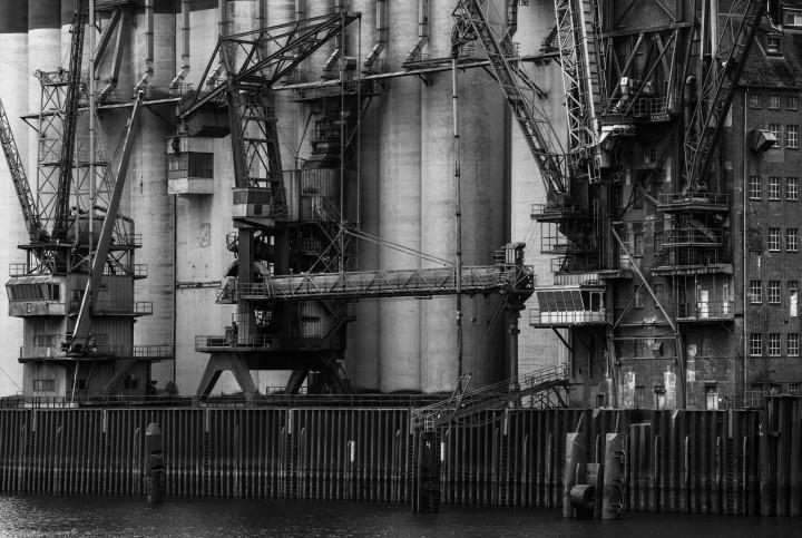 Industrie-Architektur, Hamburger Hafen #4 | Kai-Uwe Klauss Photography