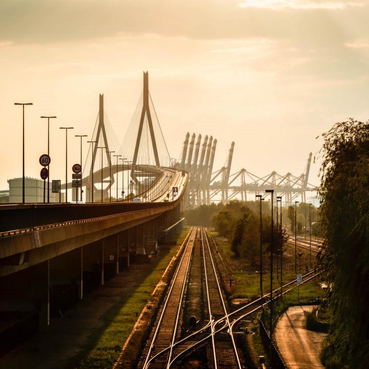 Köhlbrandbrücke, Hamburger Hafen #2 | Kai-Uwe Klauss Photography