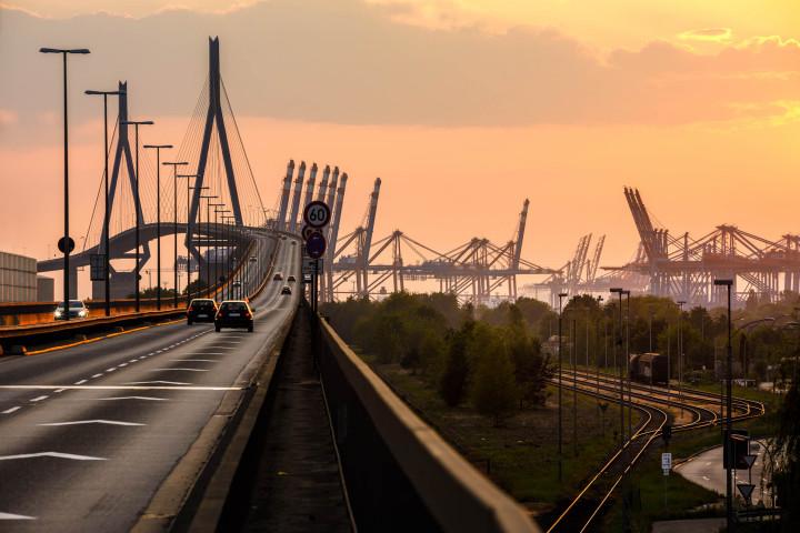 Köhlbrandbrücke, Hamburger Hafen #3 | Kai-Uwe Klauss Photography