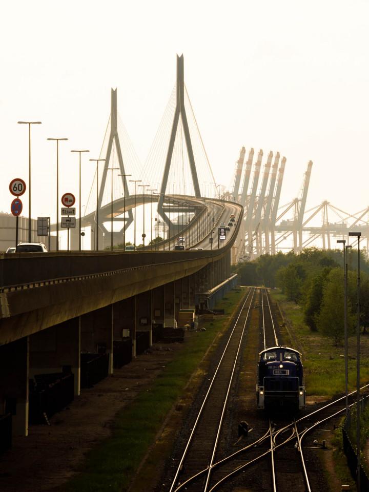 Köhlbrandbrücke, Hamburger Hafen #4 | Kai-Uwe Klauss Photography