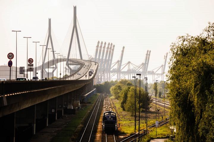 Köhlbrandbrücke, Hamburger Hafen #5 | Kai-Uwe Klauss Photography