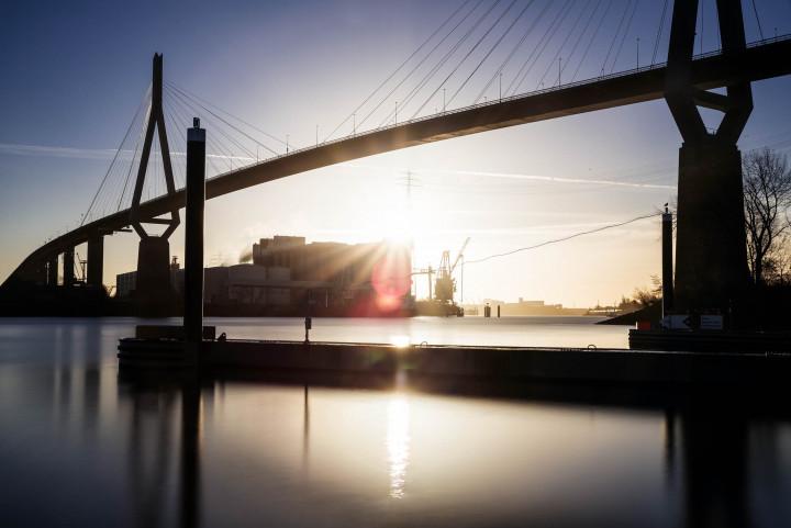 Köhlbrandbrücke, Hamburger Hafen #6 | Kai-Uwe Klauss Photography