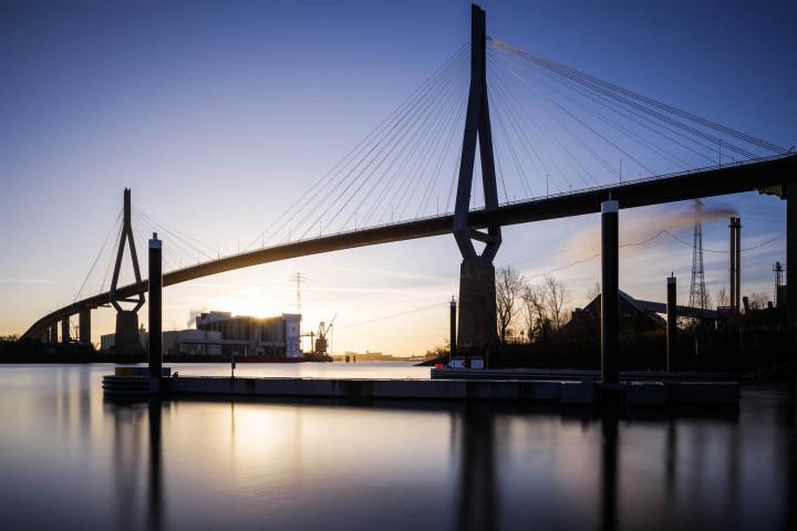 Köhlbrandbrücke, Hamburger Hafen #7 | Kai-Uwe Klauss Photography