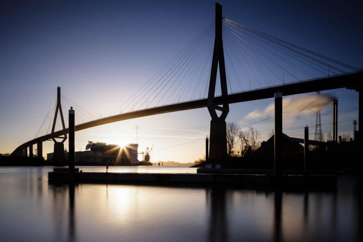 Köhlbrandbrücke Hamburg #8 | Kai-Uwe Klauss Photography