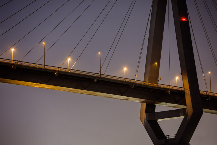Köhlbrandbrücke Hamburg #2 | Kai-Uwe Klauss Architecturephotography