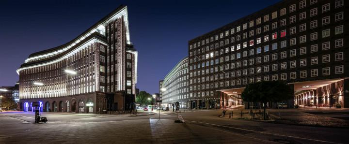 Kontorhausviertel Hamburg, Panorama | Kai-Uwe Klauss Architecturephotography