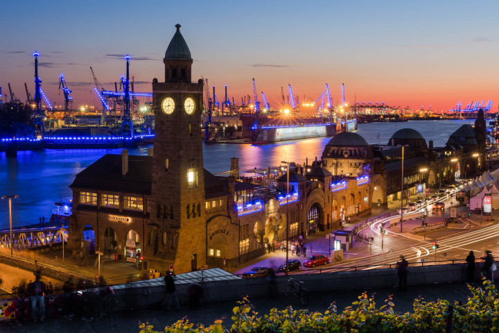 Landungsbrücken Hamburg | Kai-Uwe Klauss Photography