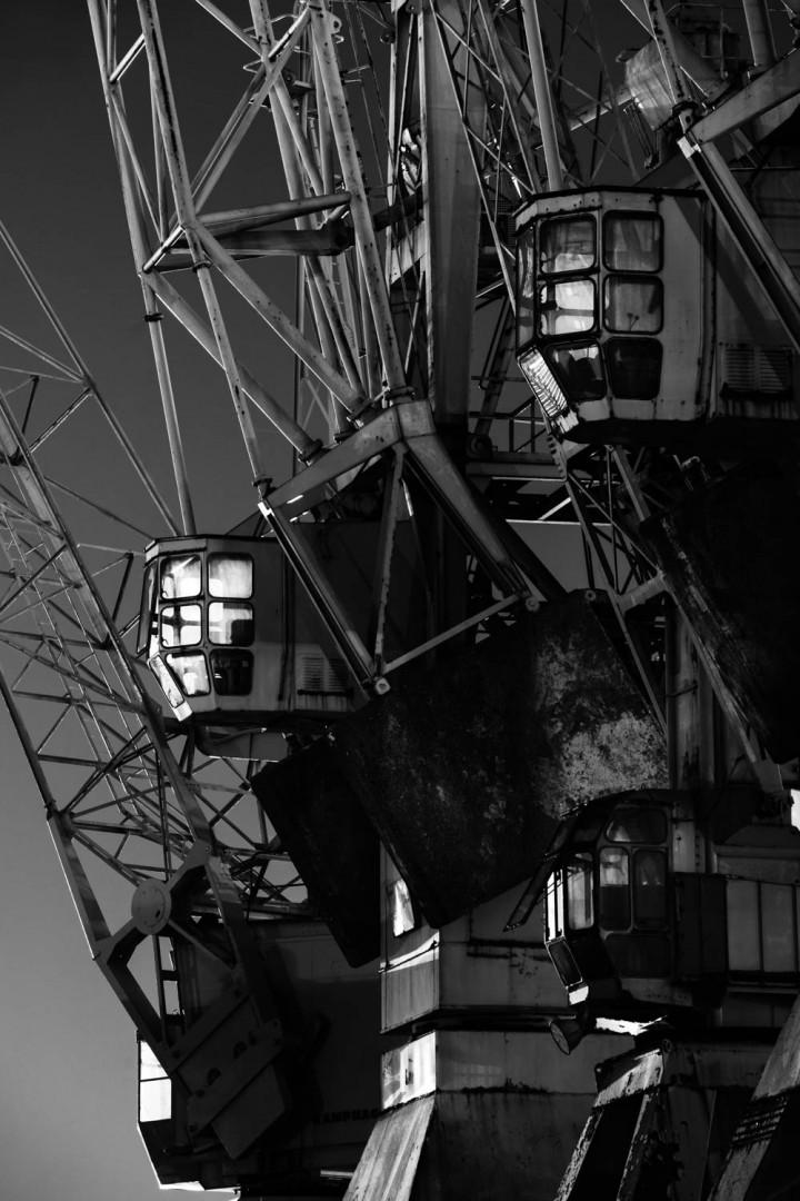 Portalkrane, Hamburger Hafen #3 | Kai-Uwe Klauss Photography