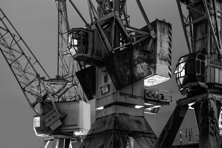 Portalkrane, Hamburger Hafen #7 | Kai-Uwe Klauss Photography