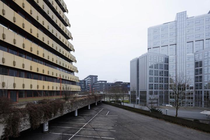 Brutalismus, Postpyramide City-Nord, Hamburg #4 | Kai-Uwe Klauss Architecturephotography