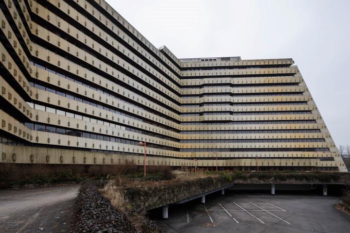Brutalismus, Postpyramide City-Nord, Hamburg #5 | Kai-Uwe Klauss Architecturephotography