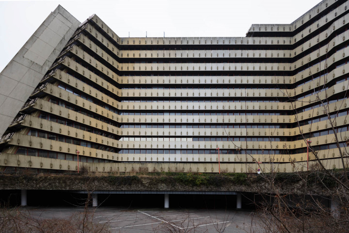 Brutalismus, Postpyramide City-Nord, Hamburg #7 | Kai-Uwe Klauss Architecturephotography