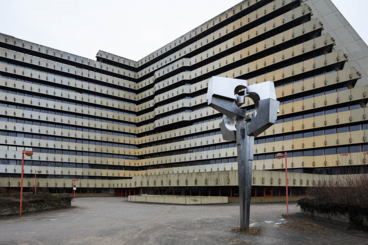 Brutalismus, Postpyramide City-Nord, Hamburg #9 | Kai-Uwe Klauss Architecturephotography