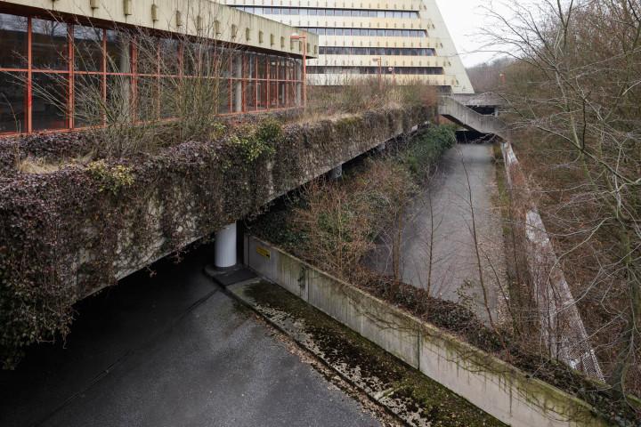Brutalismus, Postpyramide City-Nord, Hamburg #1 | Kai-Uwe Klauss Architecturephotography