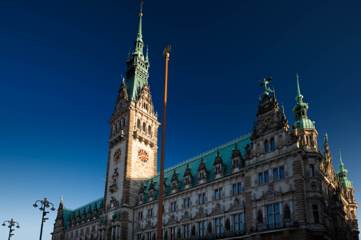 Hamburger Rathaus #1 | Kai-Uwe Klauss Architecturephotography