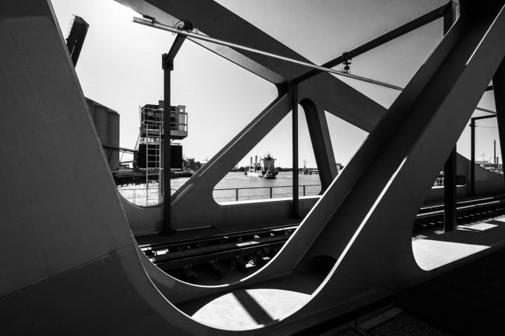 Rethe-Hubbrücke, Hamburg #2 | Kai-Uwe Klauss Photography
