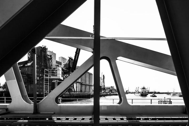Rethe-Hubbrücke, Hamburg #4 | Kai-Uwe Klauss Photography