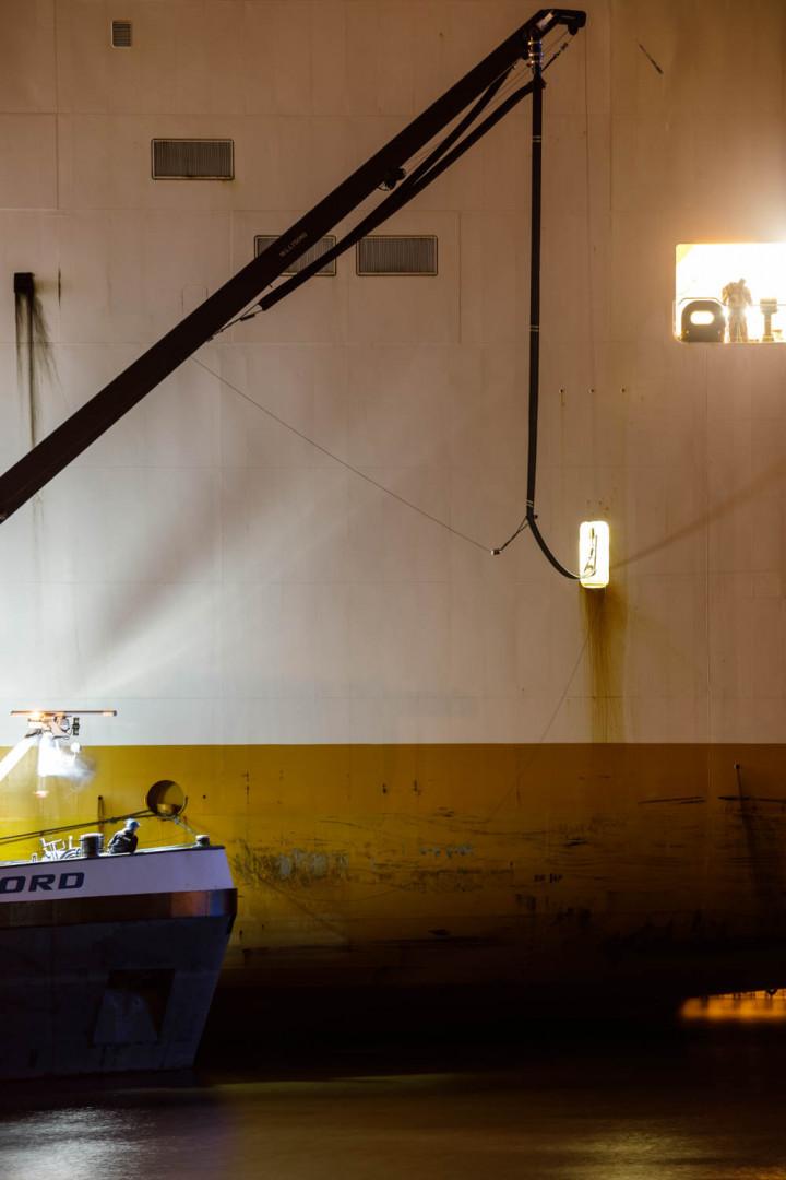 Schiffsbetankung, Hamburger Hafen | Kai-Uwe Klauss Photography