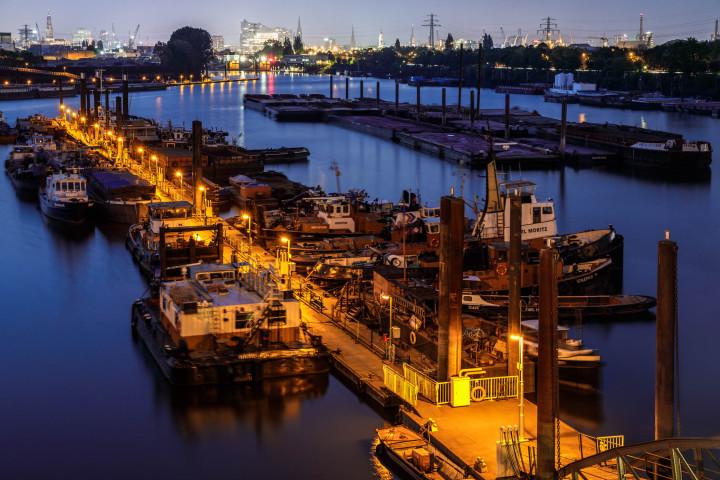 Schlepperhafen Hamburg | Kai-Uwe Klauss Photography