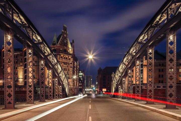 Nachts in der Speicherstadt Hamburg #14 | Kai-Uwe Klauss Photography
