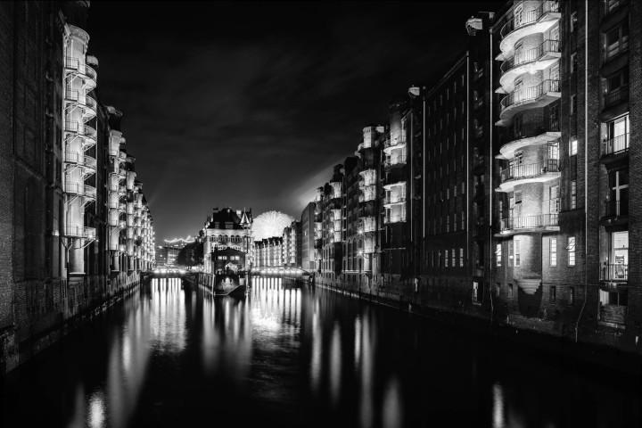 Nachts in der Speicherstadt Hamburg #8 | Kai-Uwe Klauss Photography