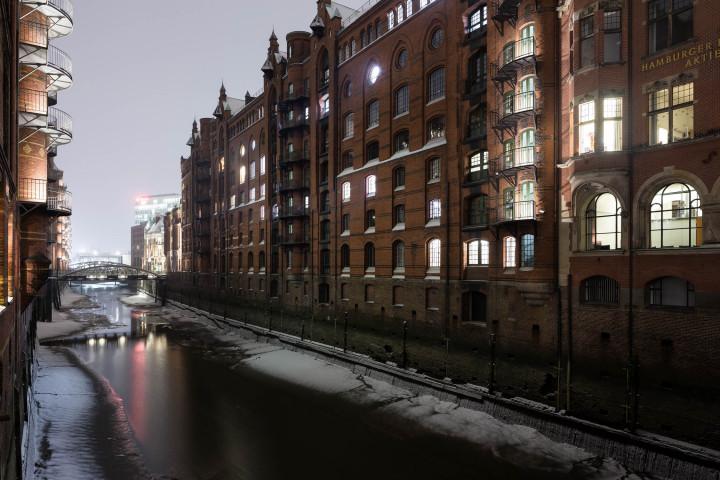 Winterliche Speicherstadt #9 | Kai-Uwe Klauss Architecturephotography