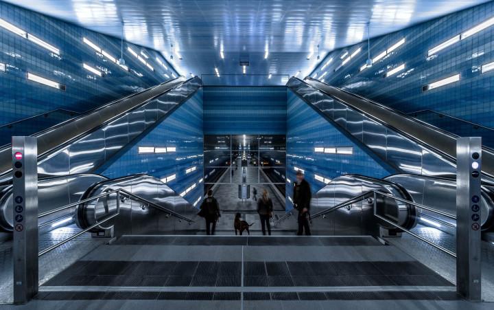 U-Bahn Überseequartier, HafenCity Hamburg #12 | Kai-Uwe Klauss Architecturephotography