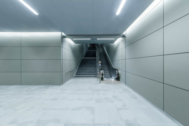 U-Bahn Überseequartier, HafenCity Hamburg #6 | Kai-Uwe Klauss Architecturephotography