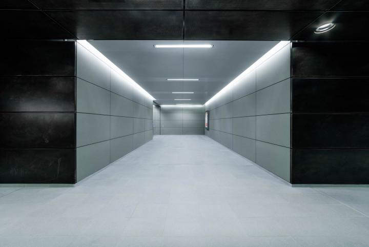 U-Bahn Überseequartier, HafenCity Hamburg #1 | Kai-Uwe Klauss Architecturephotography
