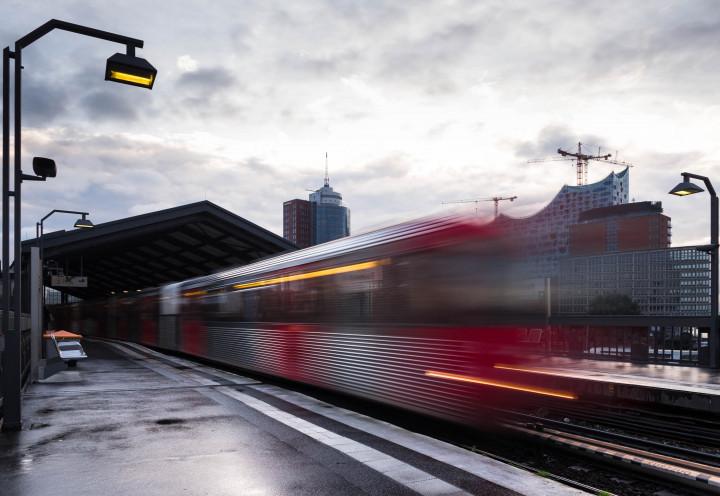 U-Bahn Baumwall, Hamburg #1 | Kai-Uwe Klauss Photography