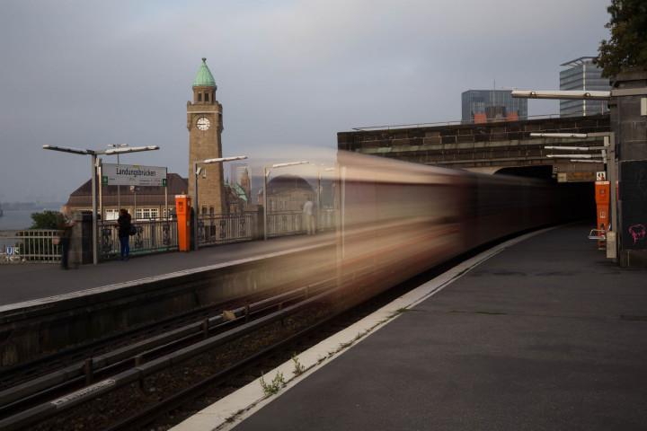 U-Bahn Landungsbrücken, Hamburg #1 | Kai-Uwe Klauss Photography