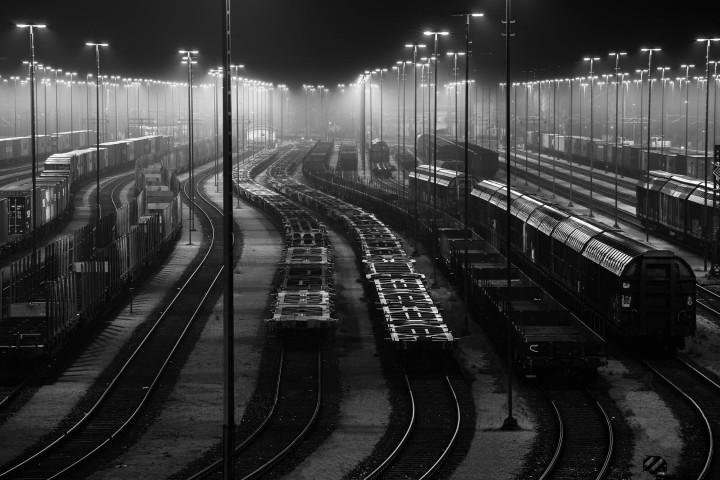 Waltershof Güterbahnhof, Hamburg #2 | Kai-Uwe Klauss Photography