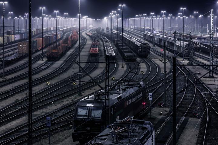 Waltershof Güterbahnhof, Hamburg #4 | Kai-Uwe Klauss Photography