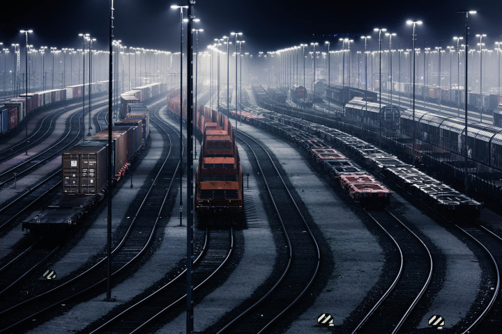 Waltershof Güterbahnhof, Hamburg #1 | Kai-Uwe Klauss Photography