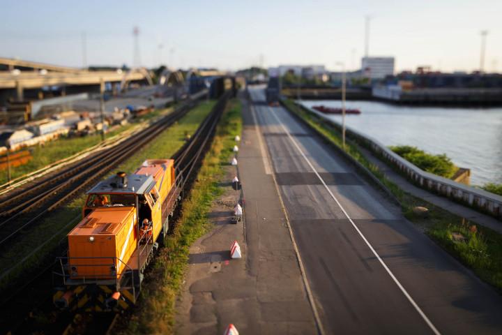 Waltershofer Hafen, Hafenbahn #28 | Kai-Uwe Klauss Photography