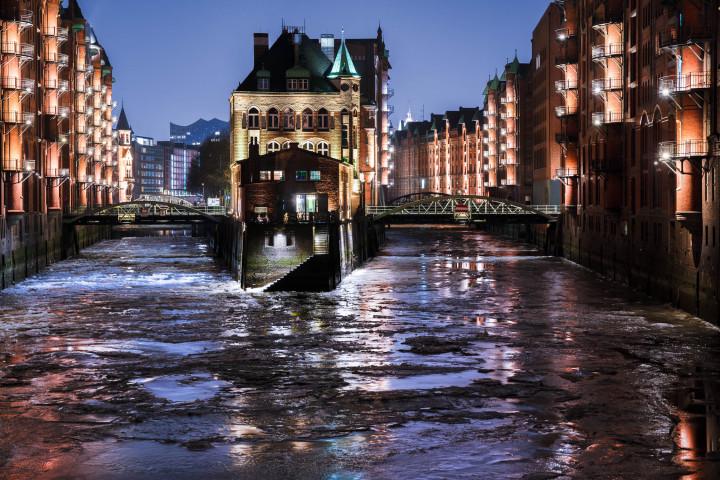 Wasserschlösschen Winter Hamburg 2 | Kai-Uwe Klauss Photography