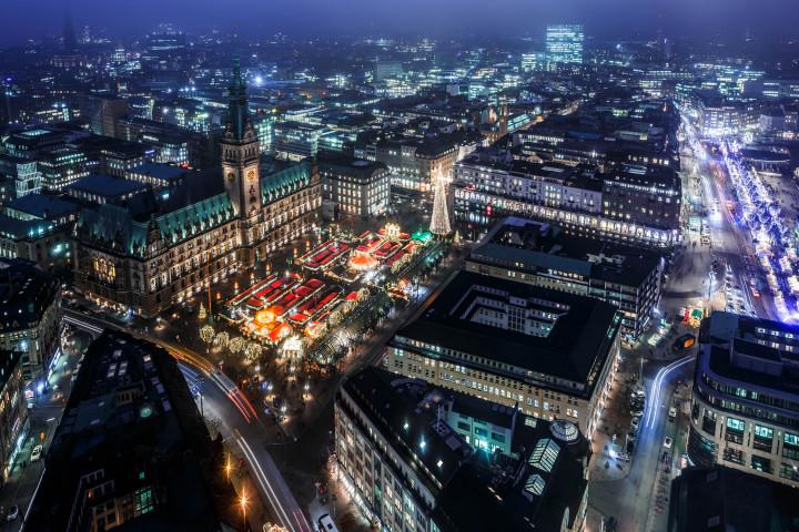 Weihnachtsmarkt_Hamburg_Rathausmarkt #2 | Kai-Uwe Klauss Photography