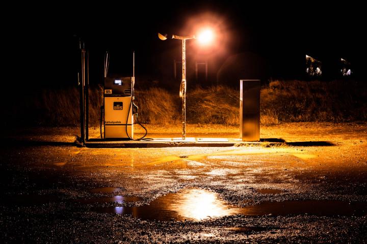 Arnastapi, Petrol Station, Iceland #1 | Kai-Uwe Klauss Landscape Photography