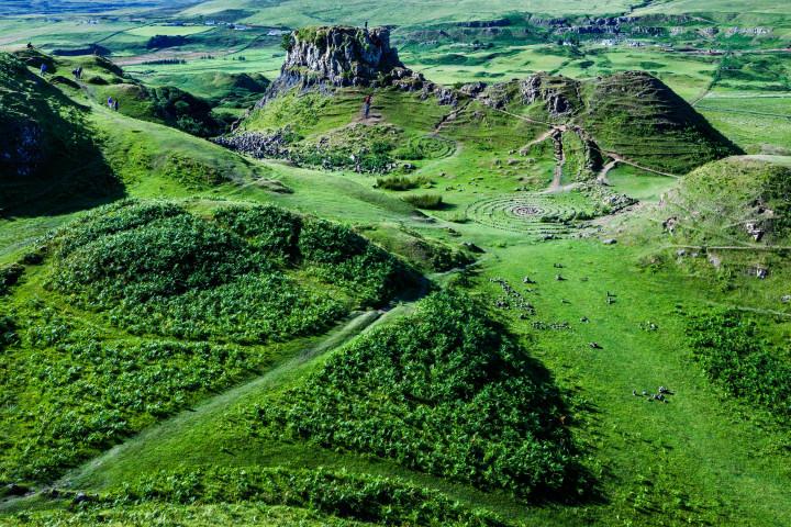 Fairy Glen, Isle of Skye, Schottland #75 | Kai-Uwe Klauss Foto