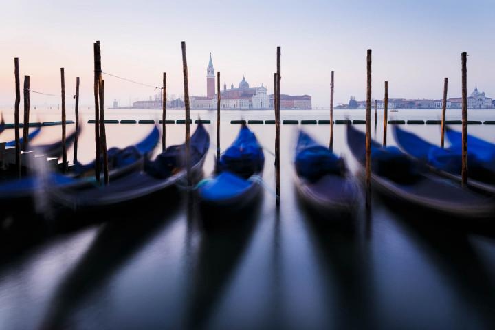 Die Gondeln von Venedig #47 | Kai-Uwe Klauss Architekturfotografie
