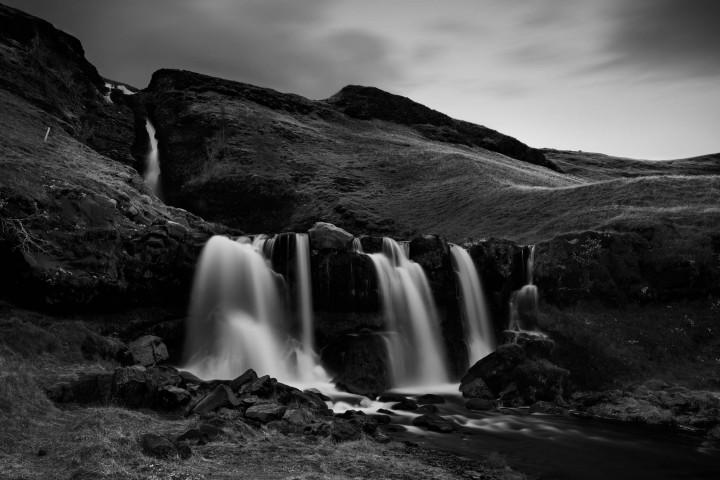Kleiner, unbekannter Wasserfall in Island #27 | Kai-Uwe Klauss Landscape Photography